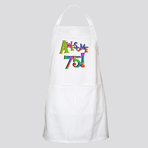 Awesome 75 Birthday Apron