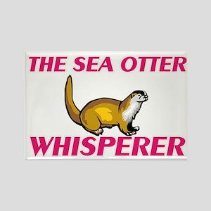 The Sea Otter Whisperer Magnets