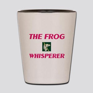 The Frog Whisperer Shot Glass