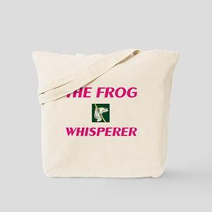 The Frog Whisperer Tote Bag