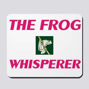 The Frog Whisperer Mousepad