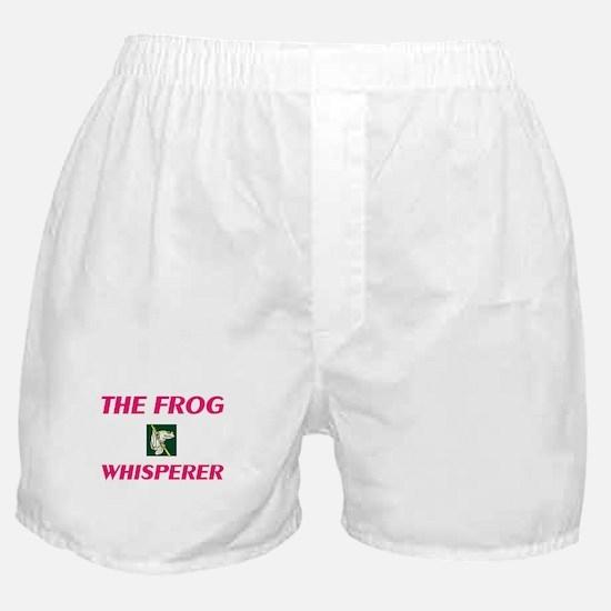 The Frog Whisperer Boxer Shorts