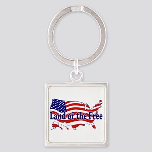 Land of the Free Keychains