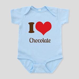 I Love Chocolate Body Suit