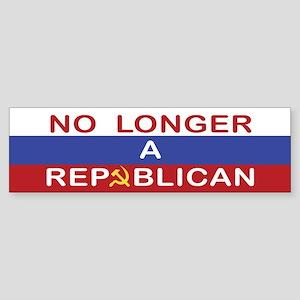 No Longer A Republican Bumper Sticker