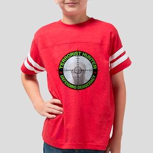 TERRORIST HUNTER - Hunter Hun Youth Football Shirt