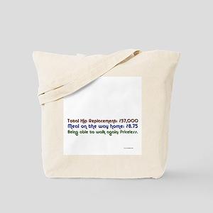 HipReplace Tote Bag