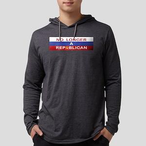 No Longer A Republican Mens Hooded Shirt