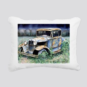 End Of My Years Rectangular Canvas Pillow