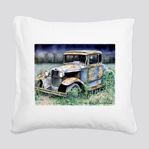 End Of My Years Square Canvas Pillow