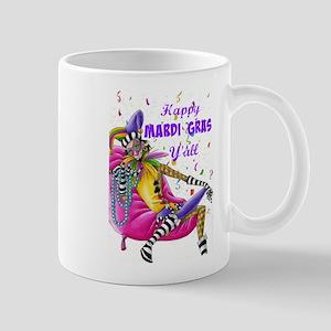 Happy Mardi Gras Y'all - Jester Mugs