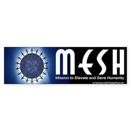 MESH Bumper Sticker