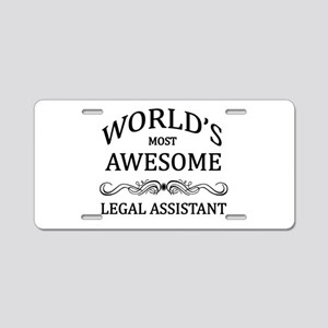 World's Most Awesome Legal Assistant Aluminum Lice