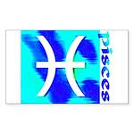Pisces Rectangle Sticker