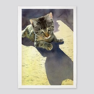 Feline Fascination 5'X7'area Rug