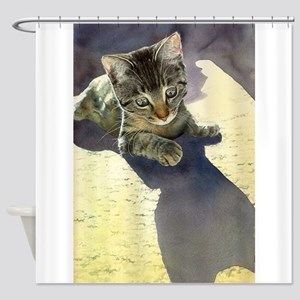 Feline Fascination Shower Curtain