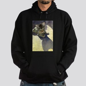 Feline Fascination Hoodie (dark)
