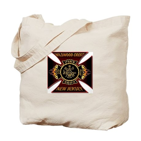 Wildwood Crest Fire Tote Bag