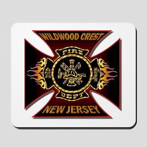 Wildwood Crest Fire Mousepad
