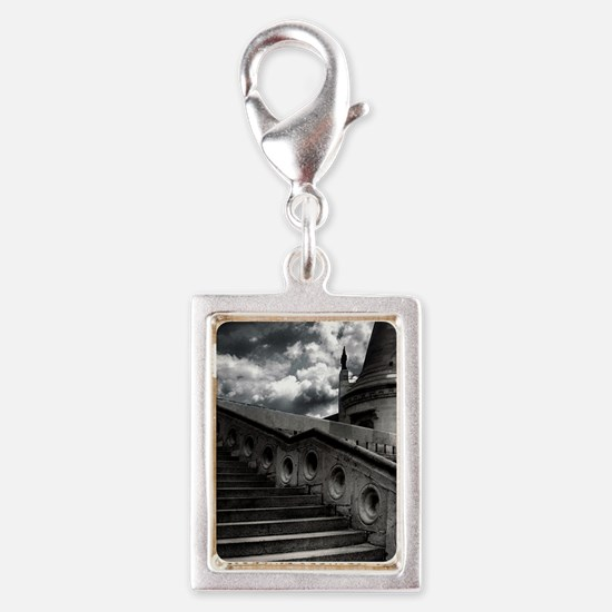 Black and White Gothic Castle Charms