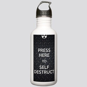 Self Destruct Stainless Water Bottle 1.0L