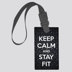 STAY FIT Large Luggage Tag