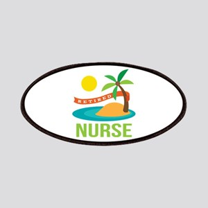 Retired Nurse (tropical) Patches