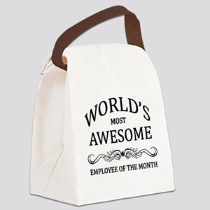 World's Most Awesome Employee of the Month Canvas