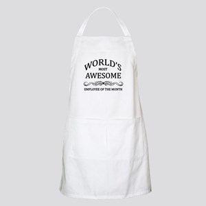 World's Most Awesome Employee of the Month Apron