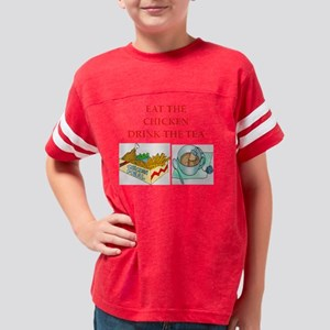 CHICKEN Youth Football Shirt