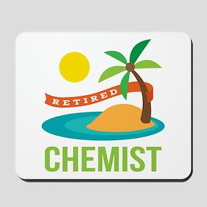 Retired Chemist Mousepad