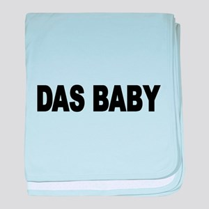 DAS BABY- the baby German 2 baby blanket