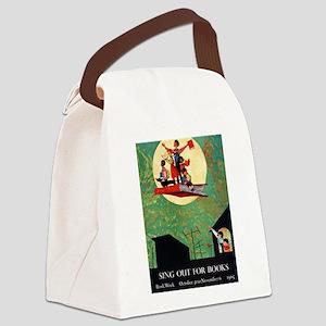 1965 Childrens Book Week Canvas Lunch Bag