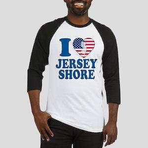 I love jersey shore Baseball Jersey