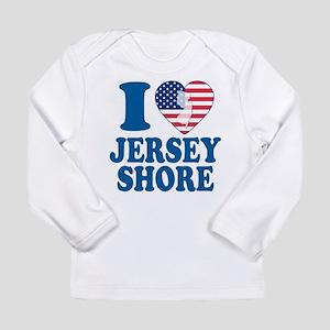 I love jersey shore Long Sleeve Infant T-Shirt