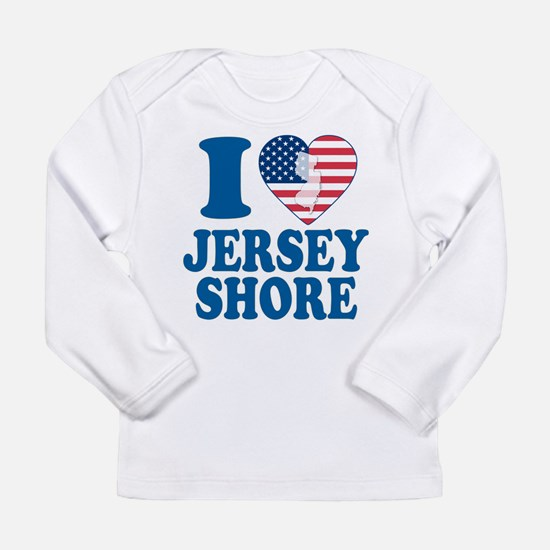 I love jersey shore Long Sleeve Infant T-Shirt