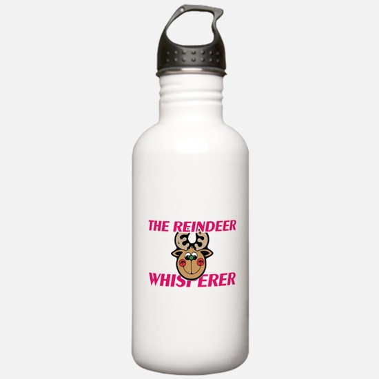 The Reindeer Whisperer Water Bottle