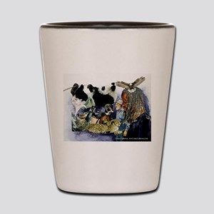 H S Collage Shot Glass