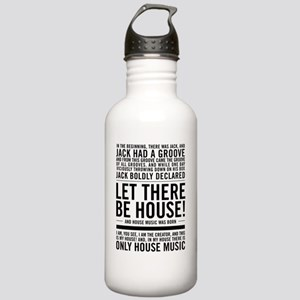 House Music, Stainless Water Bottle 1.0l