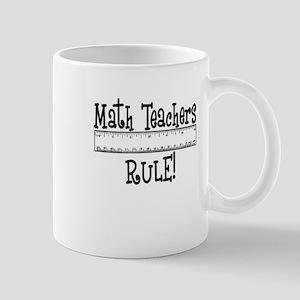 Math Teachers Rule! Funny Mug