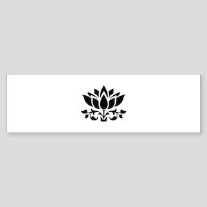 Lotus flower Bumper Sticker
