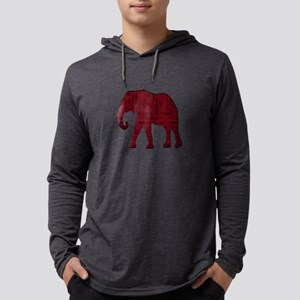THE RED ONE Mens Hooded Shirt