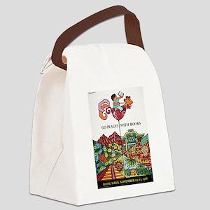 1968 Children's Book Week Canvas Lunch Bag