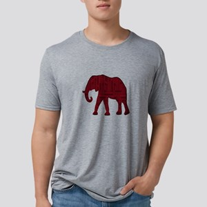 THE RED ONE Mens Tri-blend T-Shirt