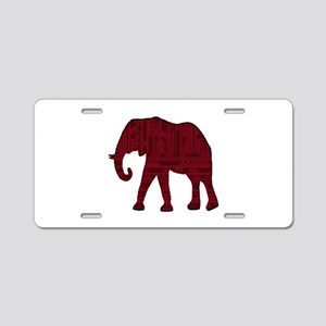 THE RED ONE Aluminum License Plate
