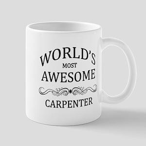 World's Most Awesome Carpenter Mug