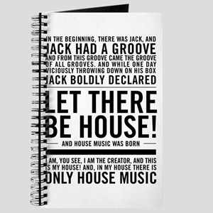 "House music ""In the beginning there was ja Journal"