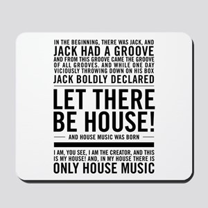"House music ""In the beginning there was Mousepad"