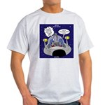 GPS in Space Light T-Shirt