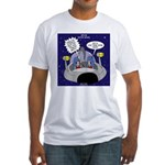 GPS in Space Fitted T-Shirt
